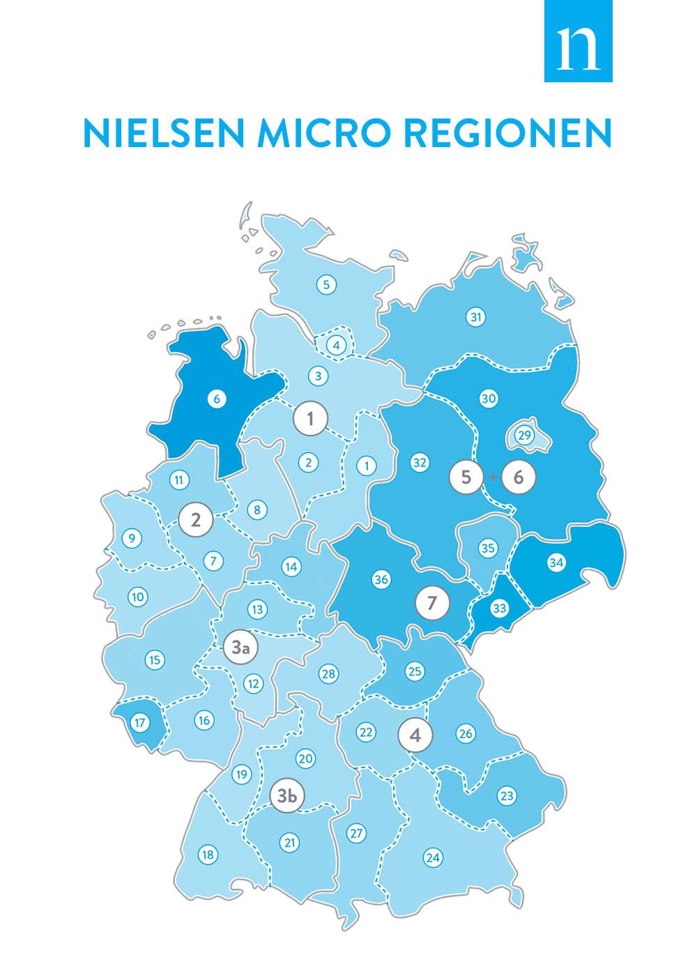 Nielsen Micro Regionen